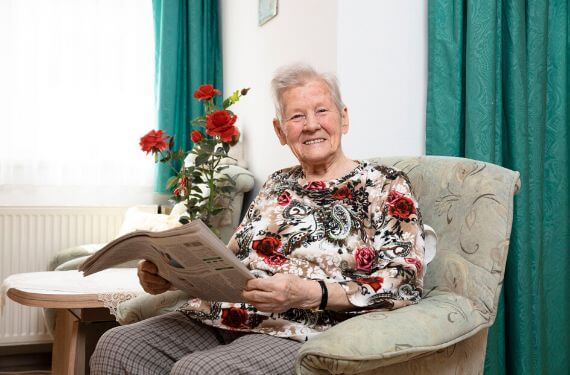CARA Hildesheim Bewohner Senioren Seniorenresidenz Pflege bei uns Betreuung