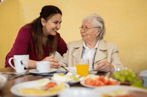 Klein Pflege CARA Angebote Betreuung